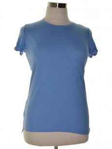 Maison Jules Women Size Small S Blue Pullover Top