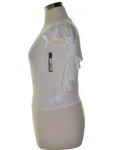Rachel Roy Women Size XS White Pullover Top