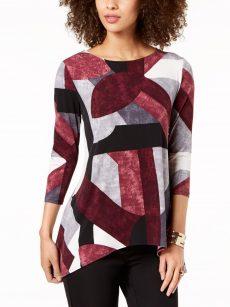 Alfani Women Size Small S Multi Pullover Top