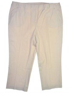 Alfani Plus Size 14W Beige Capris Cropped Pants