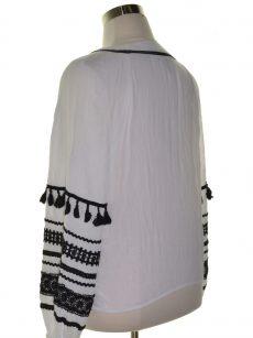 INC Women Size XL White Wrap Top