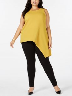 Alfani Plus Size 0X Gold Pullover Top