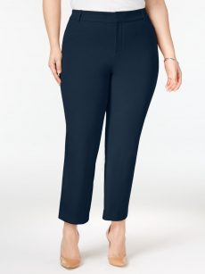 Charter Club Plus Size 20W Blue Ankle Pants
