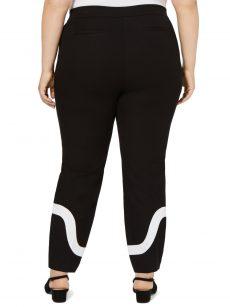 Alfani Plus Size 18W Black Ankle Pants