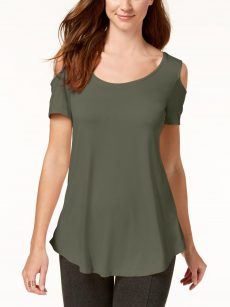 JM Collection Women Size Small S Green Pullover Top