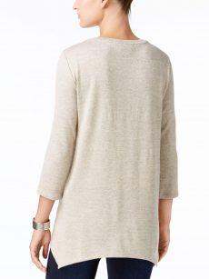Style & Co. Women Size XL Beige Sweatshirt Sweater