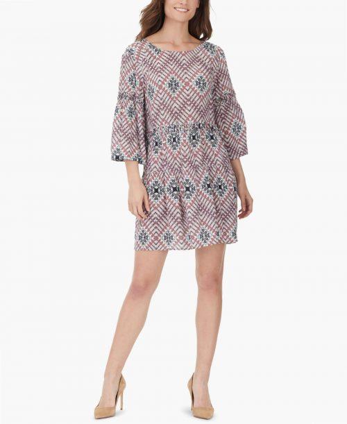 William Rast Women Size Large L Multi Babydoll Dress