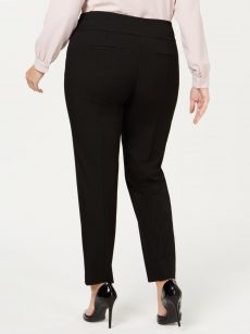 Alfani Plus Size 24W Black Skinny-Leg Pants