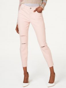 INC Women Size 16 Pink Ankle Jeans