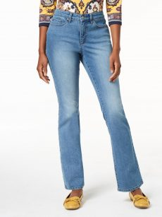 Charter Club Women Size 8 Blue Bootcut Jeans