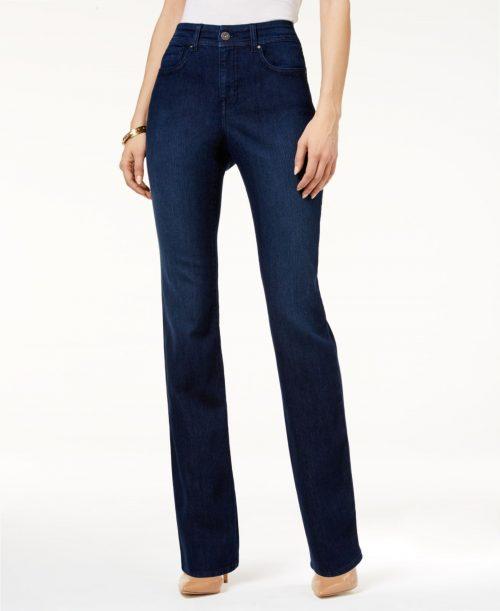Style & Co. Women Size 6L Blue Straight Leg Jeans