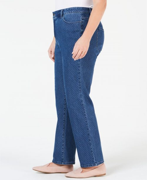 Charter Club Plus Size 20W Blue Straight Leg Jeans