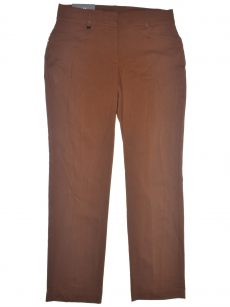 JM Collection Women Size 16 Brown Trousers Pants