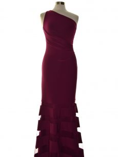 Lauren Ralph Lauren Women Size 4 Dark Purple Evening Dress