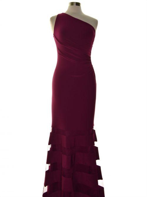 Lauren Ralph Lauren Women Size 4 Dark Purple Evening Dress