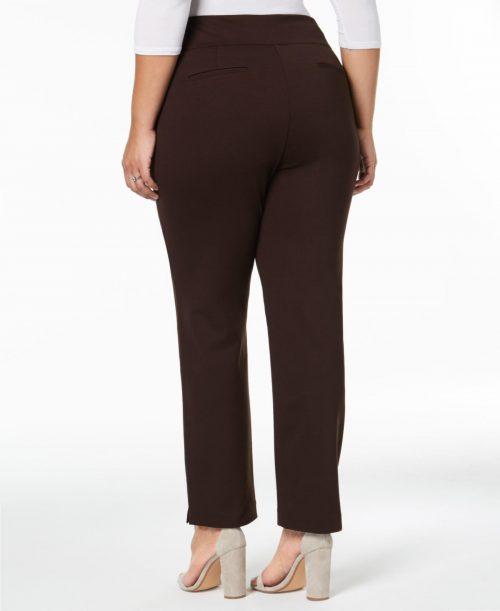 Charter Club Plus Size 14W Slim-Leg Pants