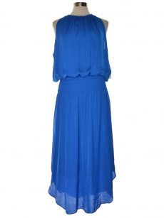 Alfani Women Size XL Royal Blue Maxi Dress