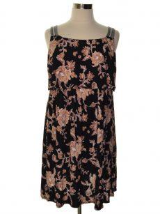 Style & Co. Women Size Large L Black Shift Dress